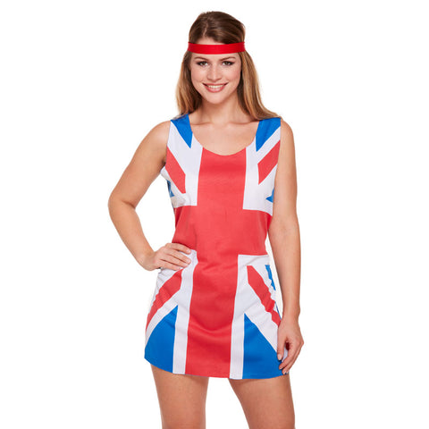 Adult Union Jack Dress Costume