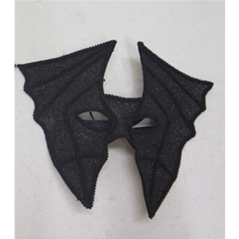 Black Bat Masquerade Mask Horror Halloween Fancy Dress Party Accessory