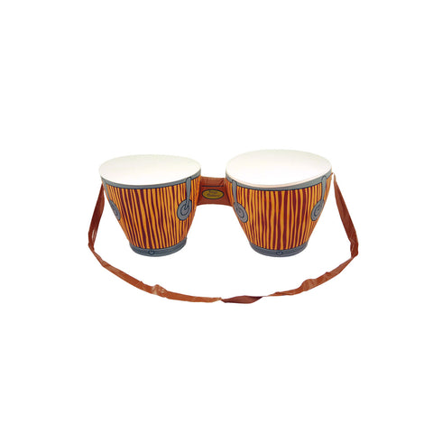 Inflatable Bongo Drums Blow Up Party Accessory