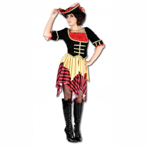 Ladies Captain Sal Costume