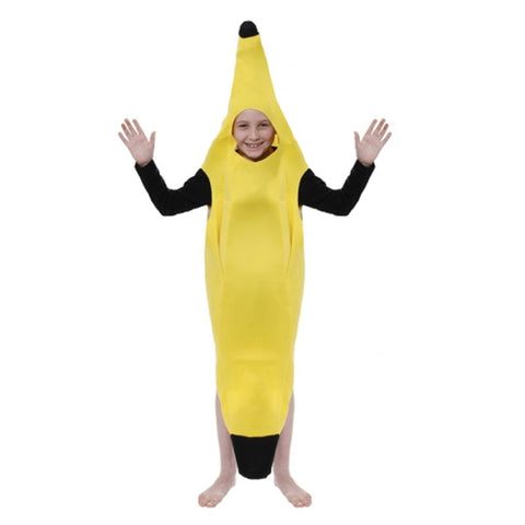 Children Banana Kids Fancy Dress Book Week Outfit