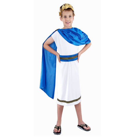 Children Caesar Boy Costume Kids Fancy Dress Book Week Outfit
