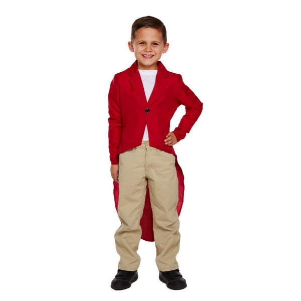 Child Fox Jacket Costume Kids Fancy Dress Book Week Outfit