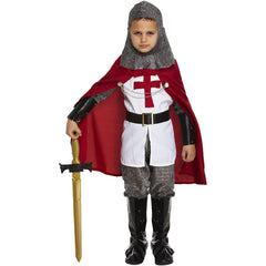 Children Knight Deluxe Costume Kids Fancy Dress Book Week Outfit