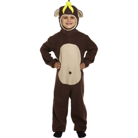 Children Monkey Costume Kids Fancy Dress Book Week Outfit