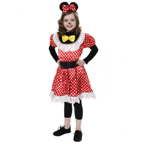 Girl Mickey Mouse Kids Fancy Dress Book Week Outfit