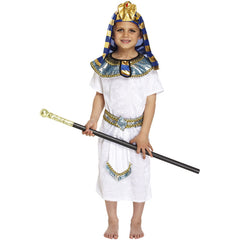 Child Pharaoh Costume Kids Fancy Dress Book Week Outfit