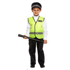 Child Policeman Costume Kids Fancy Dress Book Week Outfit