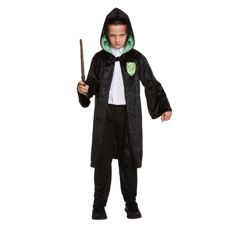 Child Wizard Boy Evil Kids Fancy Dress Book Week Outfit