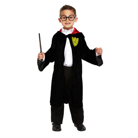 Child Wizard Boy Kids Fancy Dress Book Week Outfit