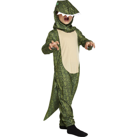 Children Dinosaur Dress Up Costume Kids Fancy Dress Book Week Outfit