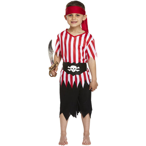 Children Pirate Costume Kids Fancy Dress Book Week Outfit