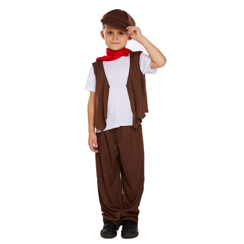 Children Chimney Sweep Costume Kids Fancy Dress Book Week Outfit