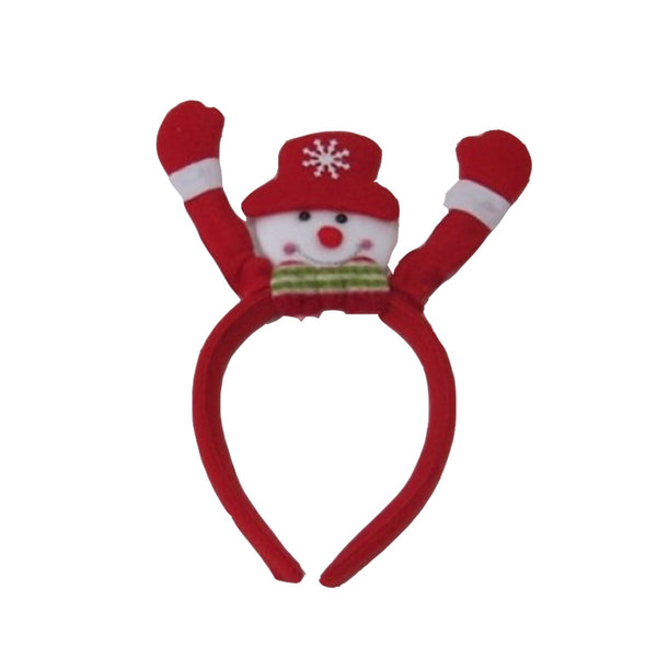 Christmas Snowman Alice band Xmas Headband