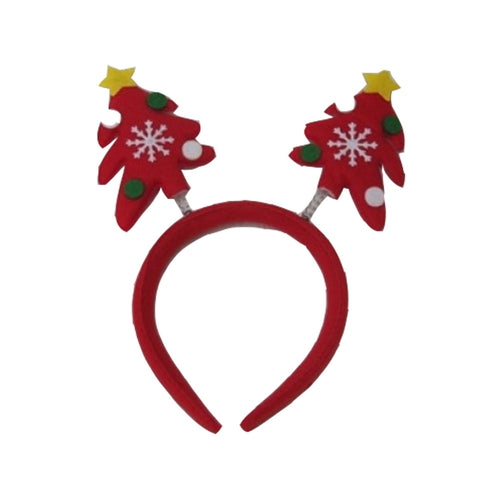 Christmas Tree Headband X-Mas Head Accessory