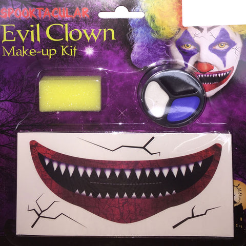 Halloween Clown Makeup Set