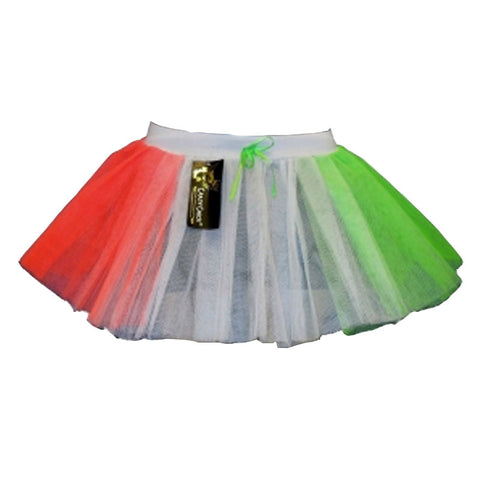 3 Layers Crazy Chick Women Irish Short Angel TuTu Skirt