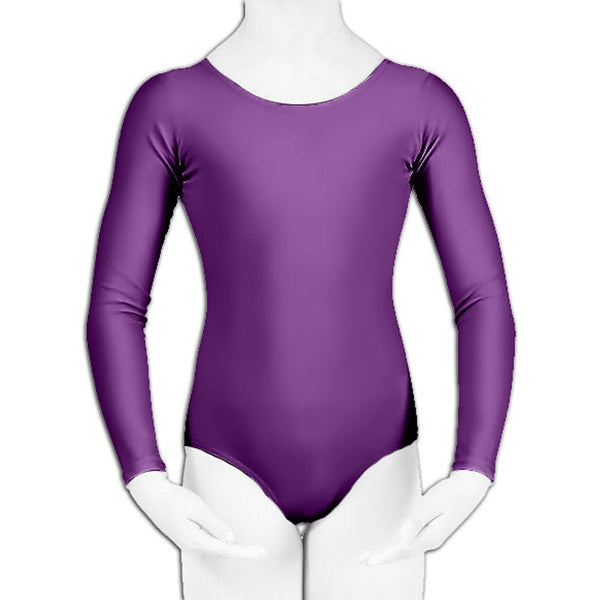 Crazy Chick Girls Purple Leotard Gymnastics School Swimming Ballet Dress