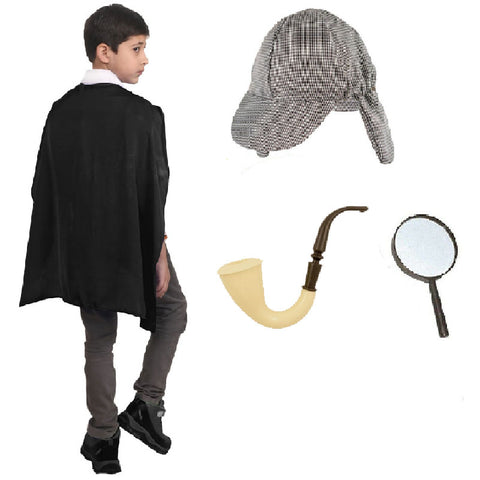 Detective Kit 4Pcs Costume World Book Day Character Fancy Dress
