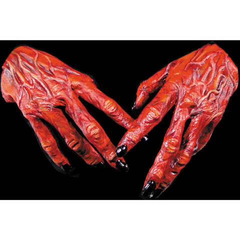 Halloween Devil Hands Scary Gloves Accessory