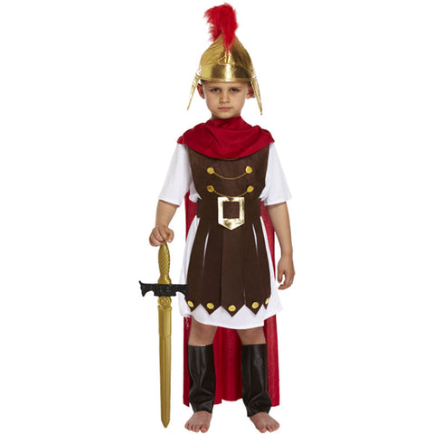 Child Roman General Costume Kids Fancy Dress Book Week Outfit