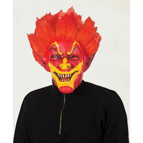 Firey Jack Mask Horror Halloween Fancy Dress Party Face Full Head Mask