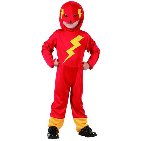 Flash Fighter Toddler Costume Kids Fancy Dress Book Week Outfit