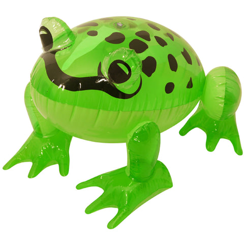 Inflatable Green Frog 39cm