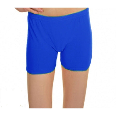 Royal Blue Lycra Microfiber Girls Hot Pants