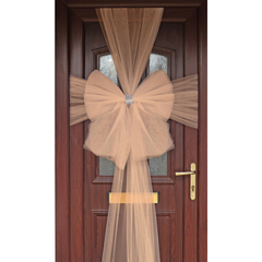 Wicked Fun Rose Gold Door Bow