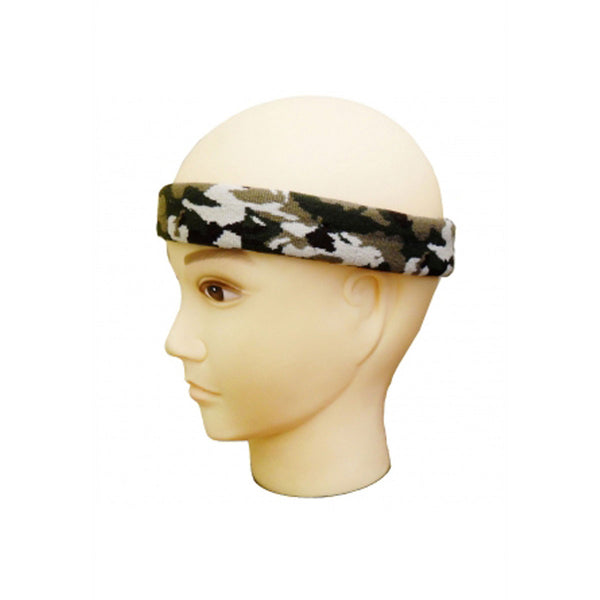 Camouflage Unisex Head Band Fancy Dress Accessory