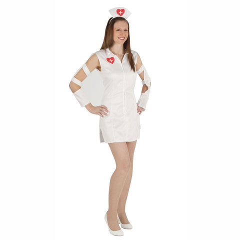 Heartbeat Adult Nurse Costume