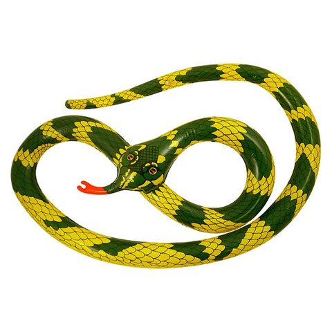 Inflatable Snake 230cm Blow Up Toy Loot Pool Party