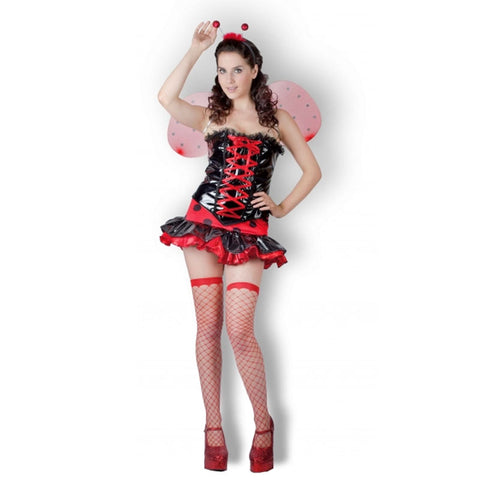 Adult Ladybird Fancy Dress Costume