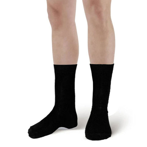Men Black Ankle High Socks (6 Pairs)