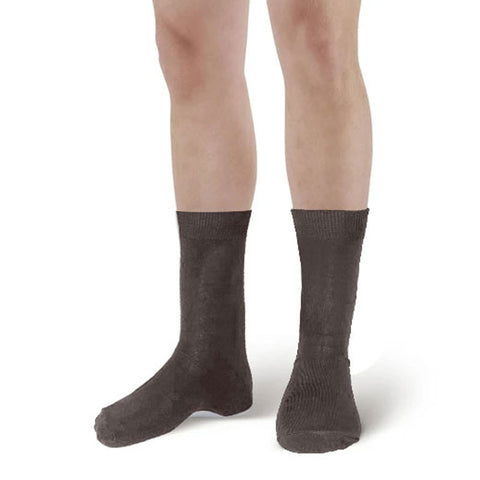 Men Dark Brown Ankle High Socks UK Size 6-11 (6 Pairs)