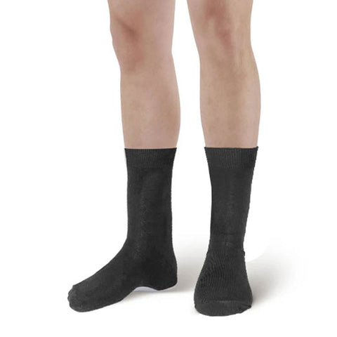 Men Grey Ankle High Socks (6 Pairs)