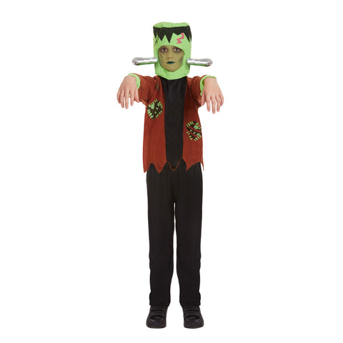 Children Monster Alien Costume Boys Girls Halloween Dress Party Zombie Outfit