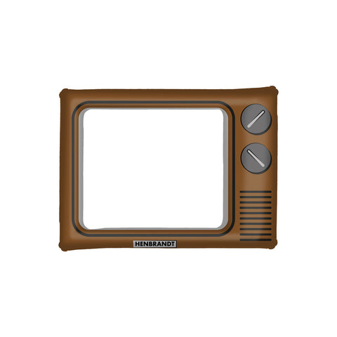 Inflatable Picture Frame Brown TV 60 X 80 Cm