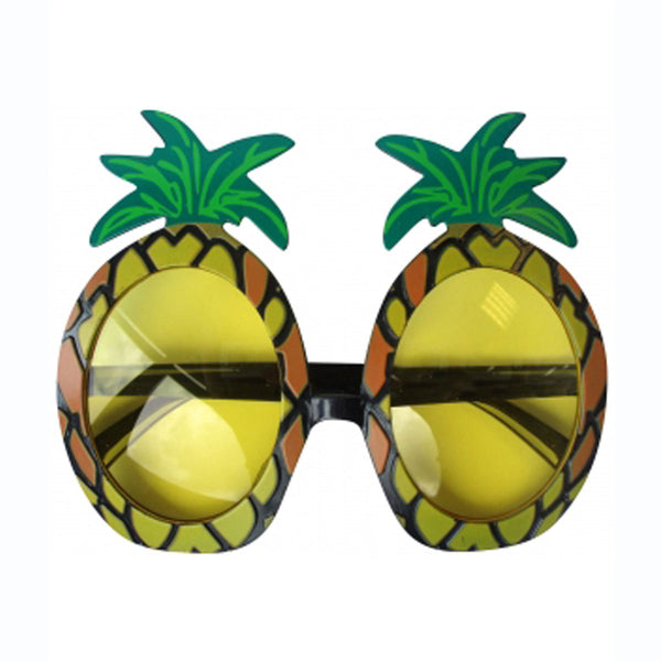 Pineapple Glasses Fun Summer Hawaii  Beach Pool Party Fancy Dress Accessory Prop