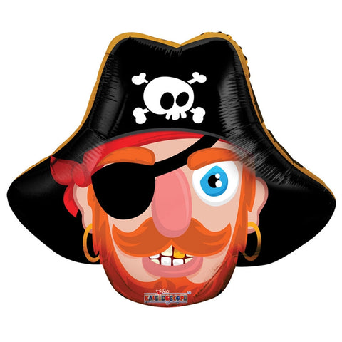 Childs Mini Pirate Shape Balloon 14 Inches Kids Party Celebration Accessories