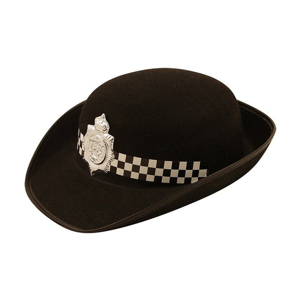 Ladies Police Hat Police Officer Costume Fancy Dress Accessory