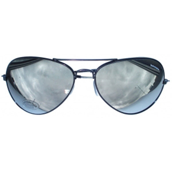 Mens Pop Icon Mirror Glasses With Silver Lenses Adult Fancy Party Wear Accessory