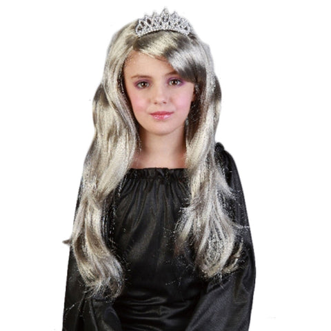Girls Princess Long Wig Cosplay Party Fancy Dress Accessory