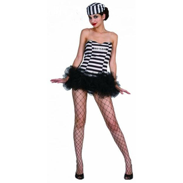 Ladies Prisoner Girl Adult Costume