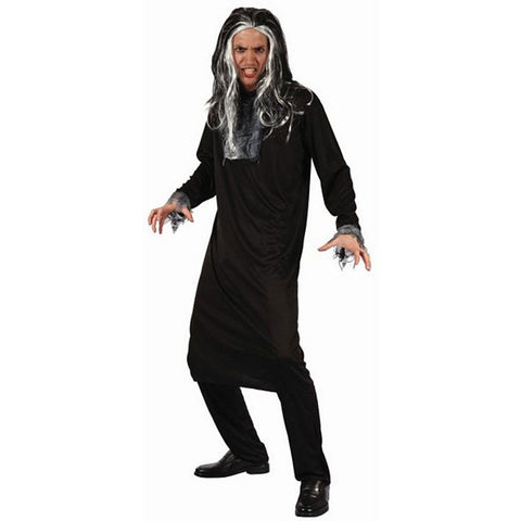 Halloween Adult Men's Psycho Costume Scary Fancy Dress Horror Party Outfit UK