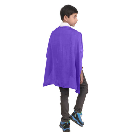 Wicked Fun Children Purple Deluxe Satin Cape