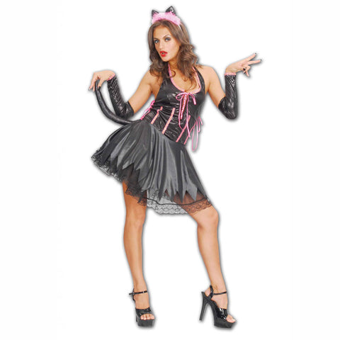 Ladies Purring Adult Costume