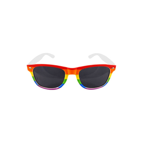 Rainbow Sunglasses With Dark Lens Adults Festival Glasses Fancy Dress Accessory