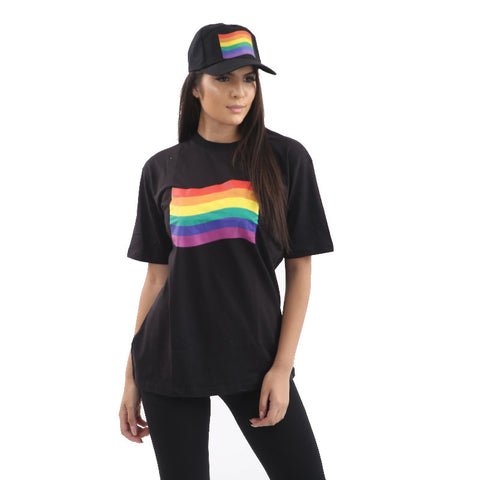 Rainbow Flag Printed Gay Pride Hat